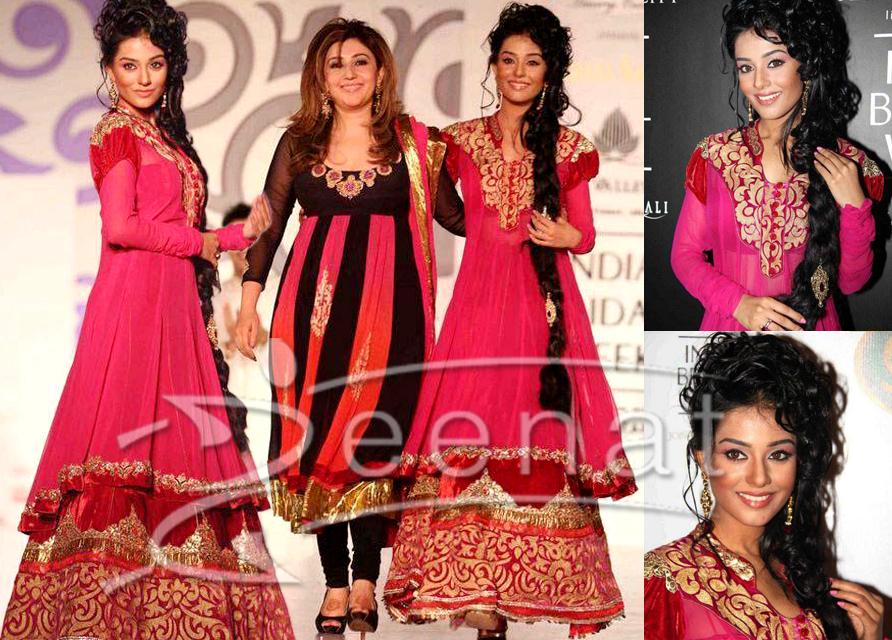 Amrita Rao In Bridal Lehenga Choli