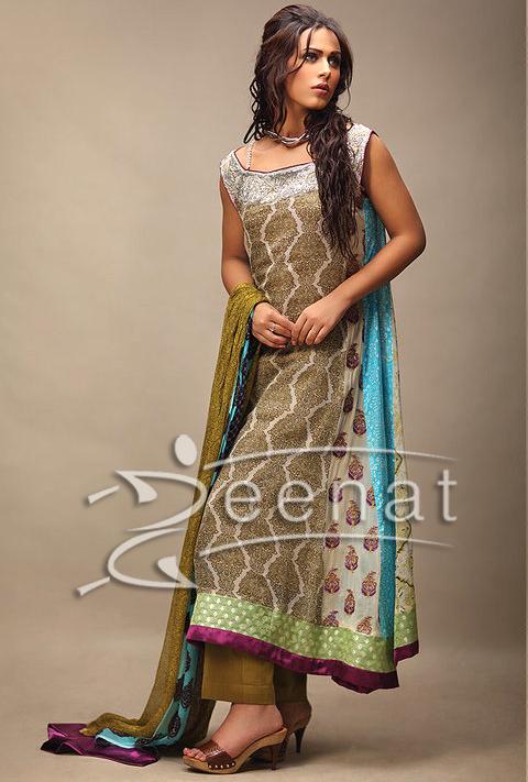 Ayyan A-Line Anarkali Dress