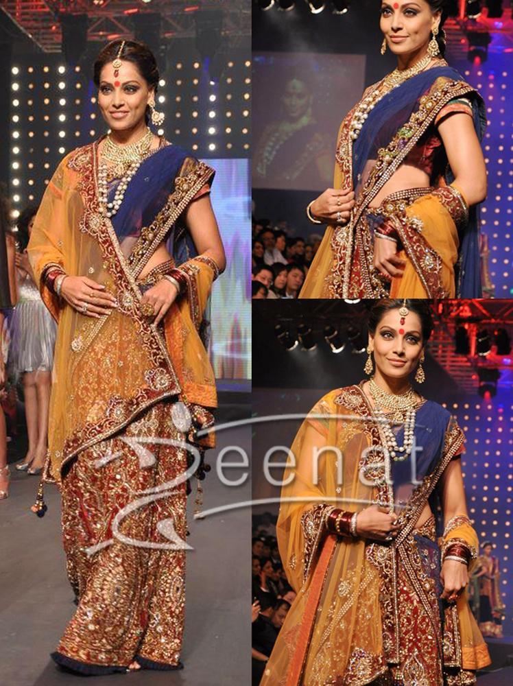 Bipasha In Indian Bridal Saree