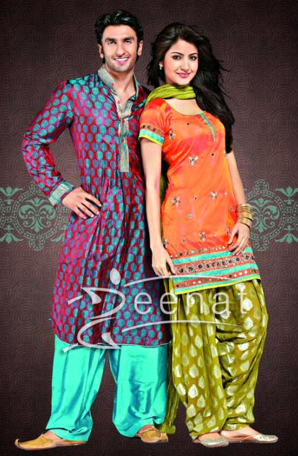 Bollywood Attire Styles on Anushka & Ranveer