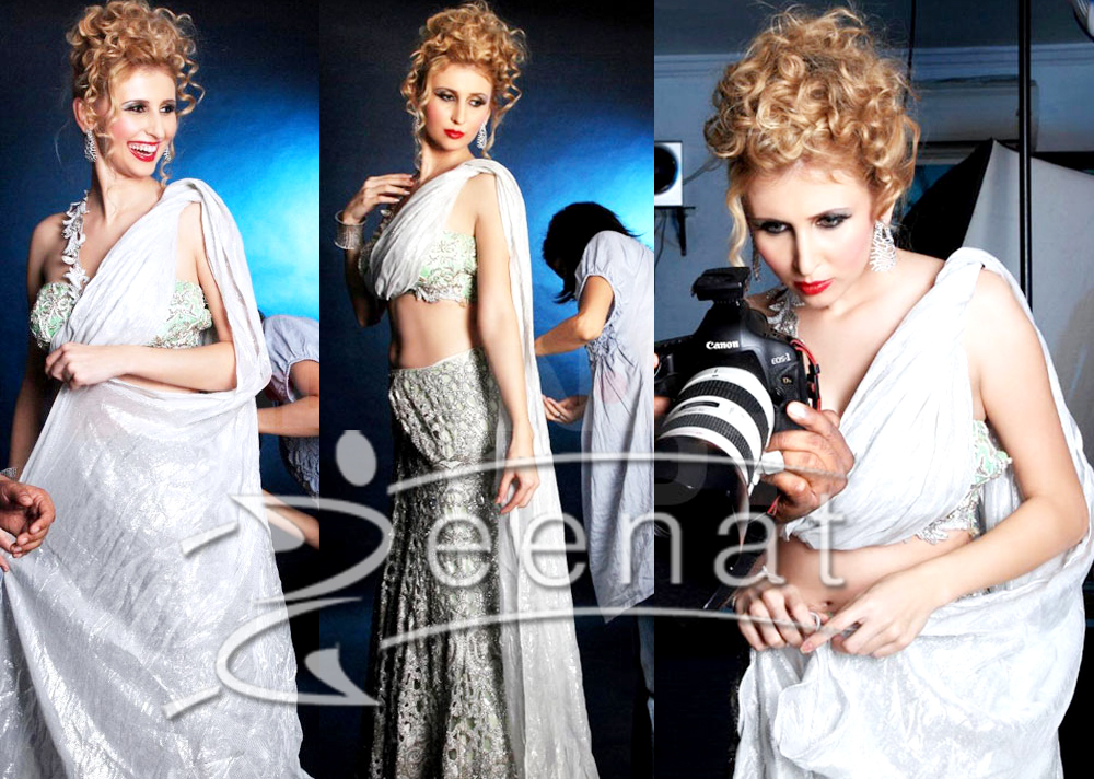 Claudia In Designer Lehenga Choli