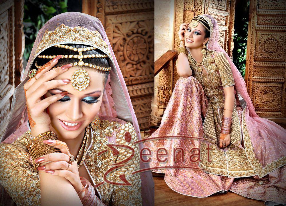 Pakistani Bridal Lehenga Choli on Ayyan