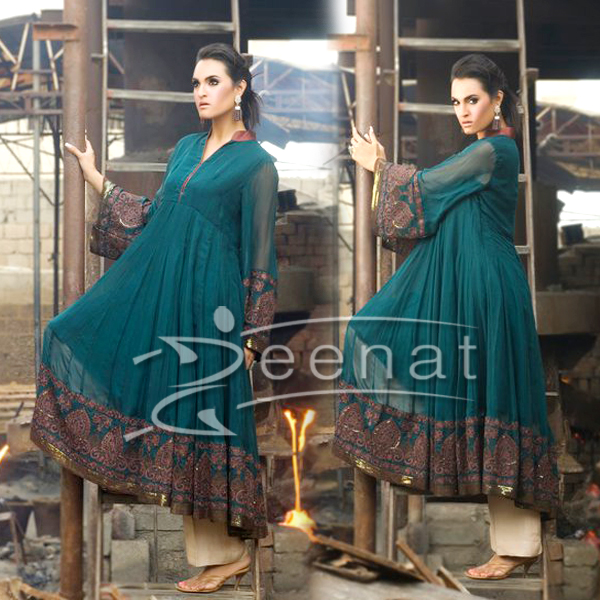 Nadia Hussain In Elegant Threads and Motifs Outfit
