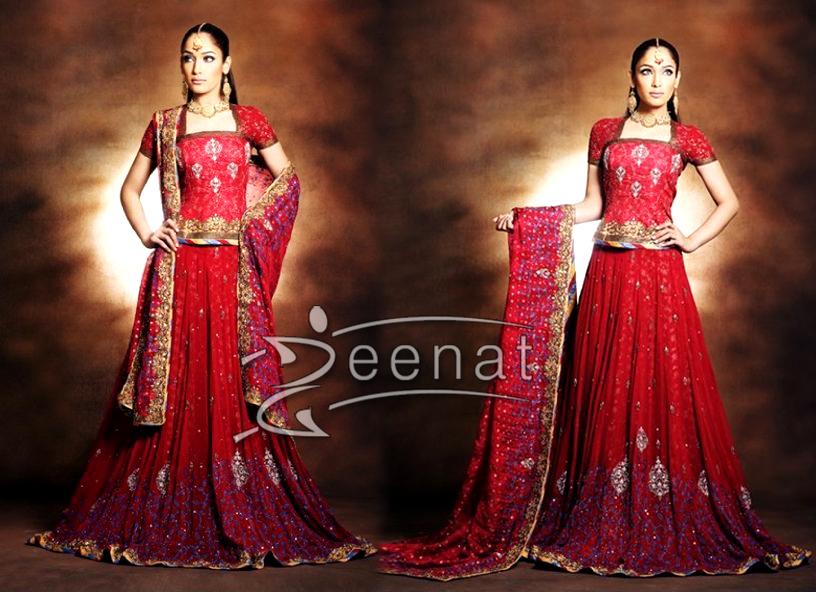 Nisha Bridal Lehenga Choli Style