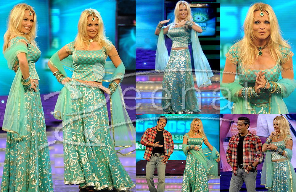 Pamela Anderson Lehenga Choli