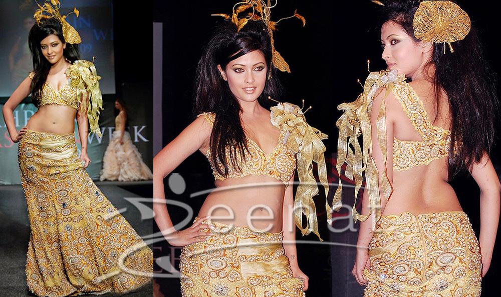 Riya Sen Bahrain Fashion Week