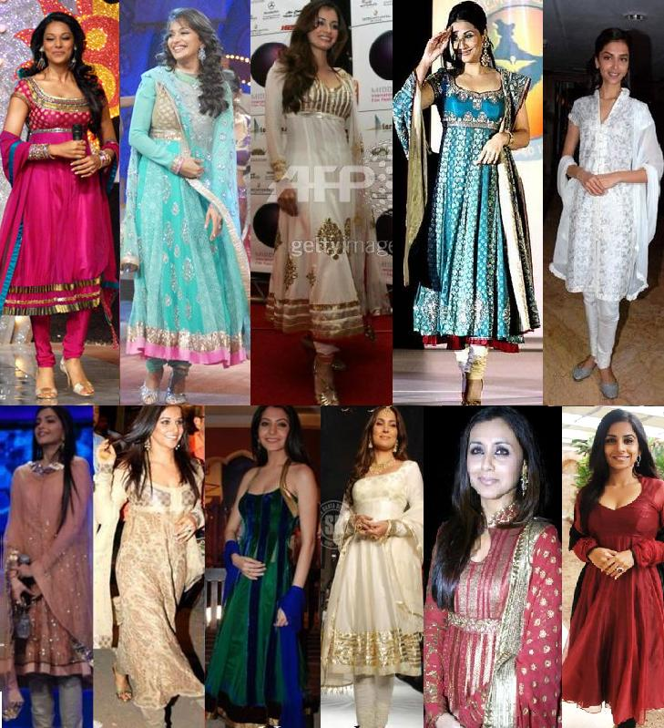 Anarkali Salwar Kameez Styles