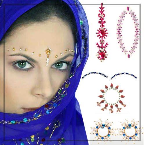 Indian Bindi Irwin Tika Styles