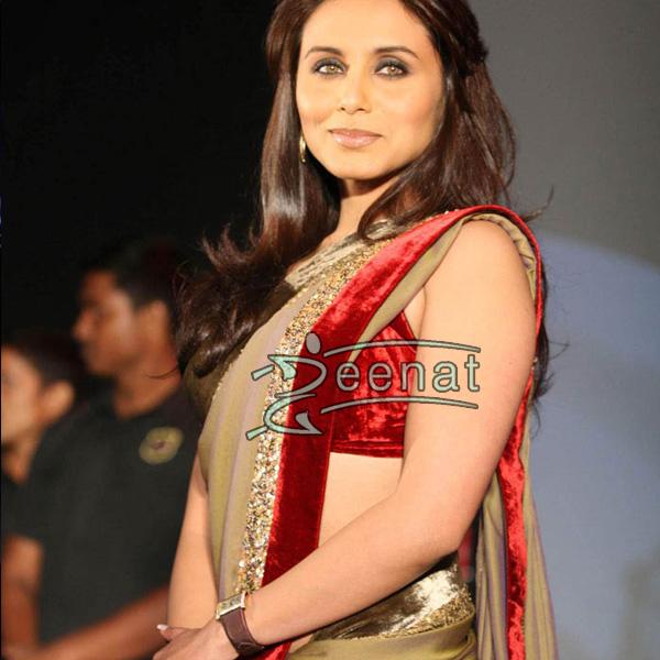 Rani In Bollywood Hot Saree