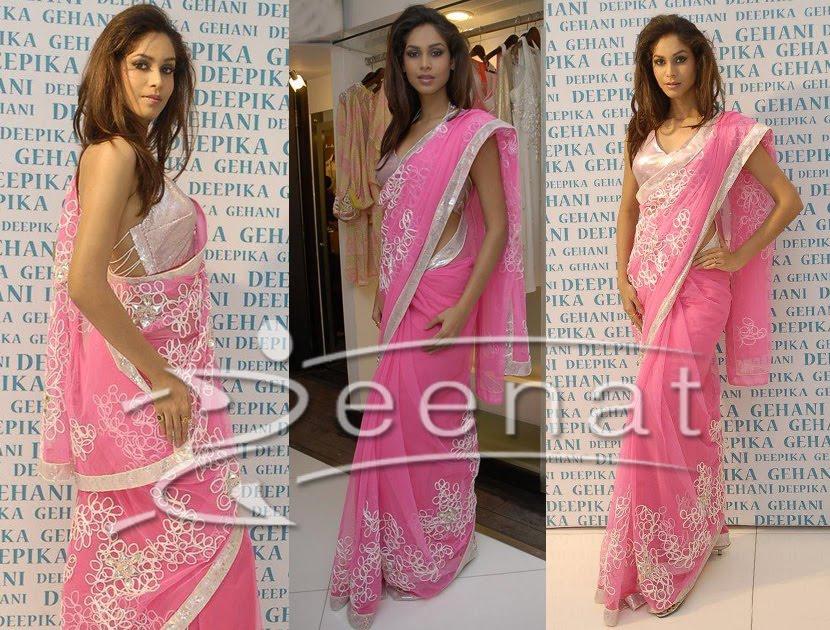 Amruta Patki Indian Designer Saree