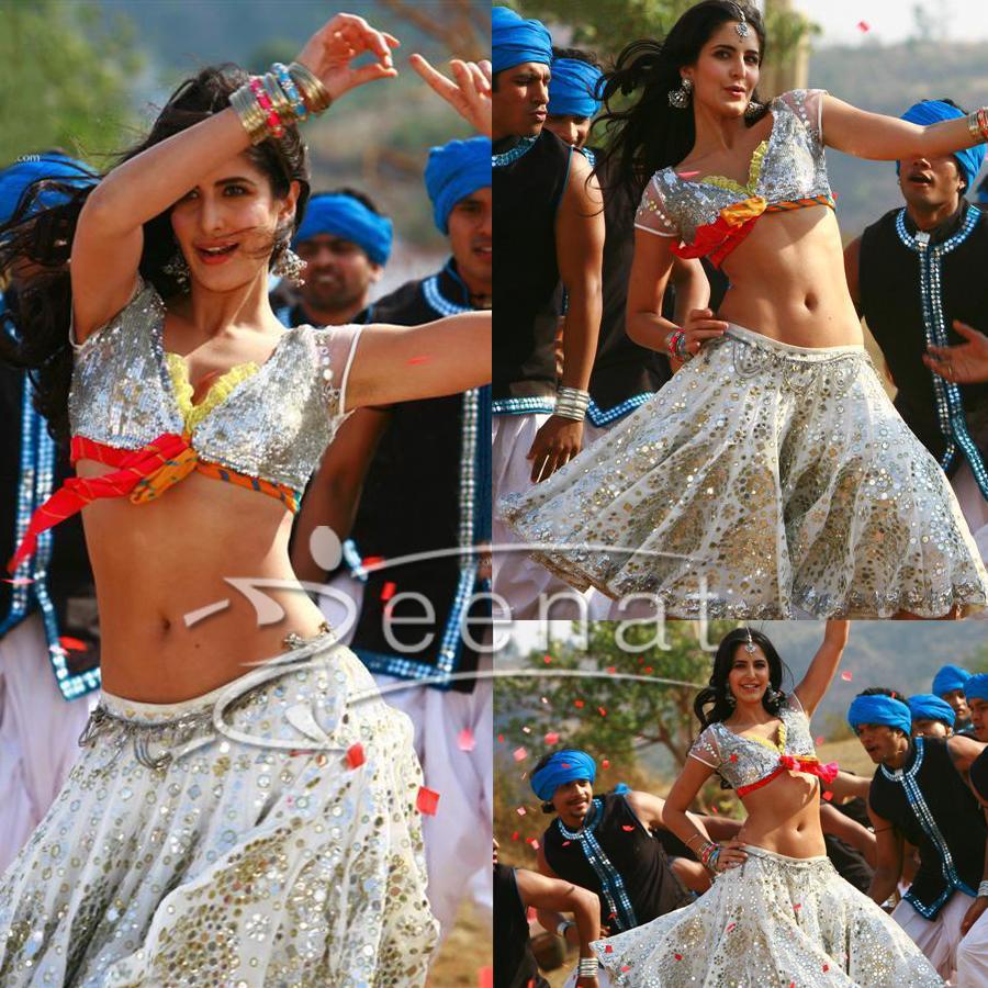 Katrina Kaif Ghagra Choli   Tees Maar Khan Movie Stills