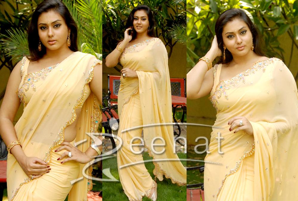 Namitha Indian Sarees Trends