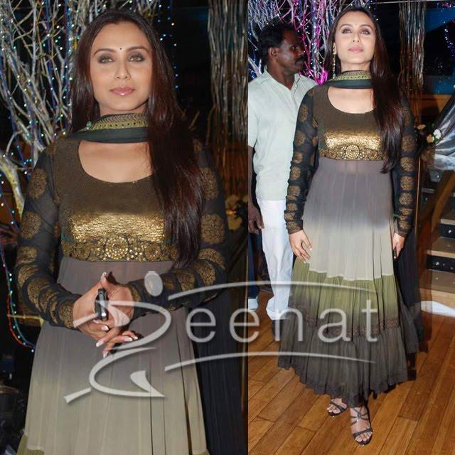 Rani Mukherjee Indian Anarkali Style