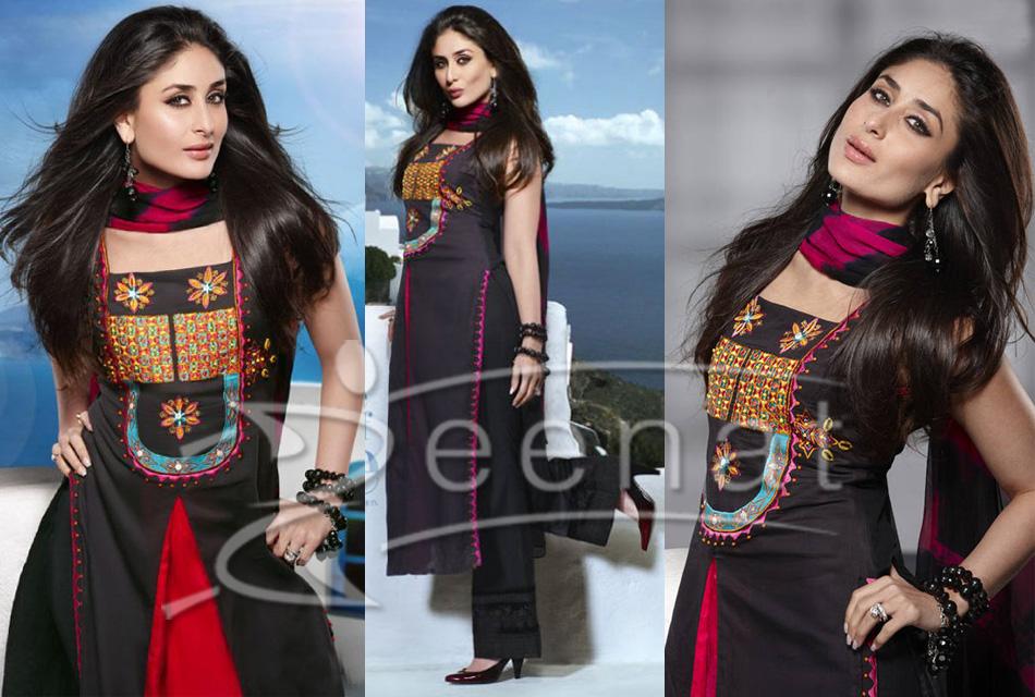 Kareena Suit Style In Black