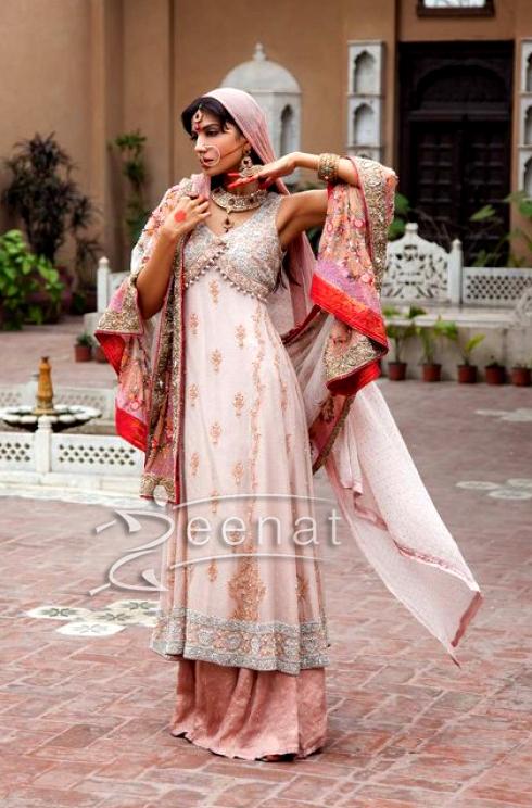 Rabia Butt Bridal Wear Parallel Dress