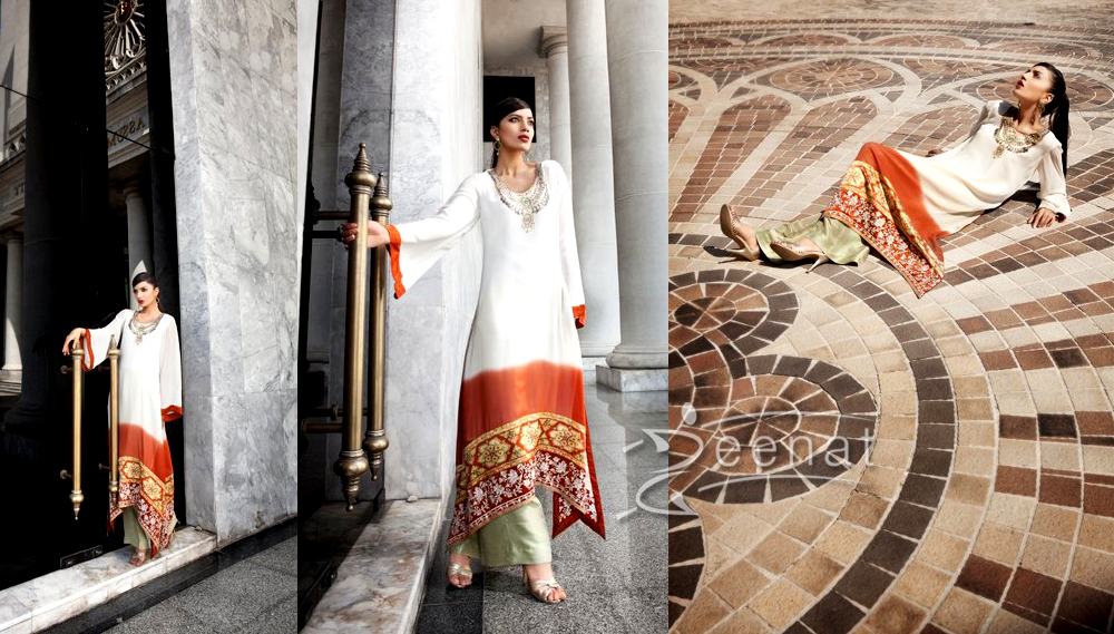 Rabia Butt In Threads And Motifs Collection 2011