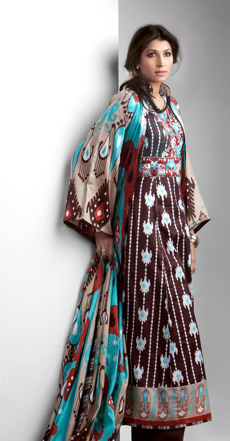 Vaneeza Ahmed | V Lawn Prints 2011