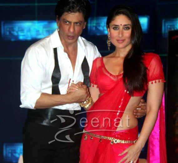 Kareena Kapoor In Red Net Saree