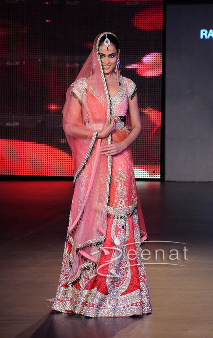 Genelia D'Souza Blenders Pride Fashion Tour 2011