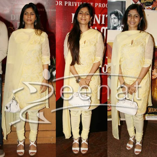 Tanisha Mukherjee Indian Churidar Salwar Kameez