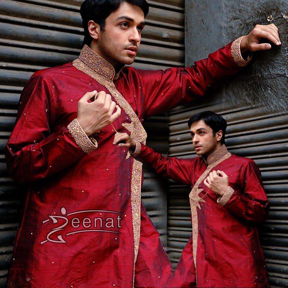 Azfar Rehman In HSY's Groom's Wear