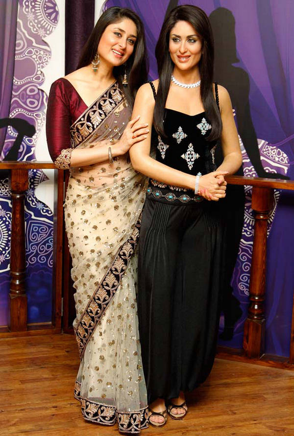 Kareena Kapoor's Wax Statue at Madame Tussauds Museum