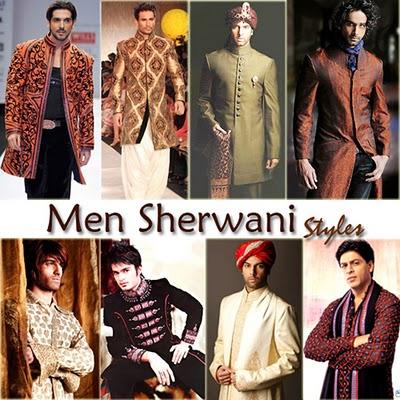 Men Sherwani Styles