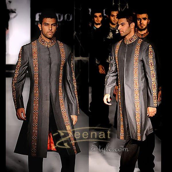 Noor Hassan In Alluring Designer's Sherwani