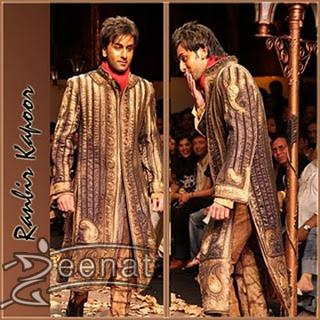 Ranbir Kapoor In Artistic Groom's Wear