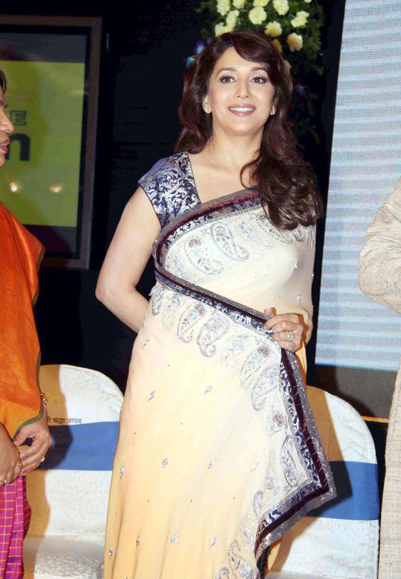 Madhuri Dixit Sarees at VSC Launch