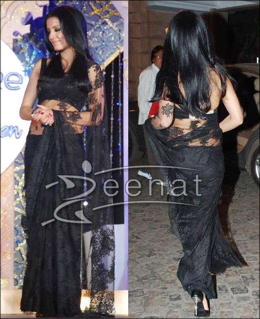 Celina Indian net Saree