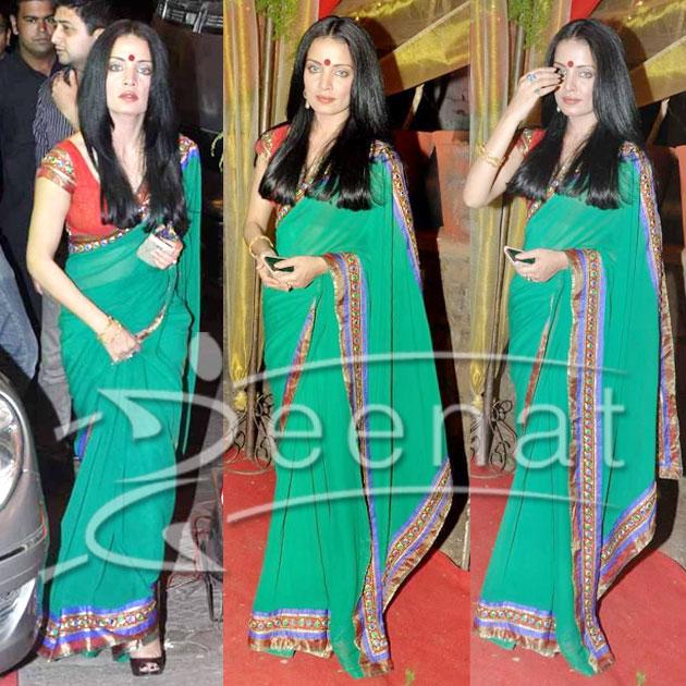 Celina Jaitley Indian Saree