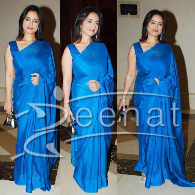 Divya Dutta Indian Saree Silk