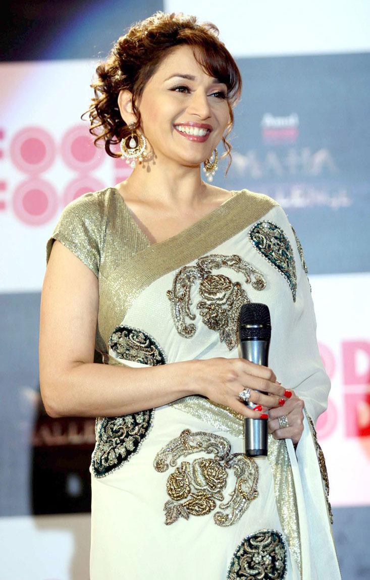 Madhuri Dixit At Food Food Media Meet Stills