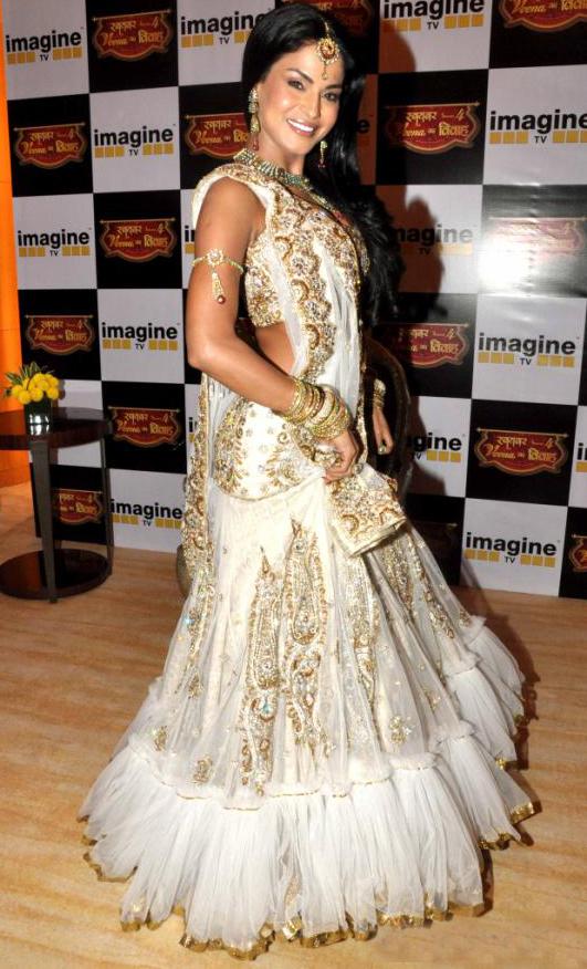 Veena Malik Swayamvar   Lehenga Choli