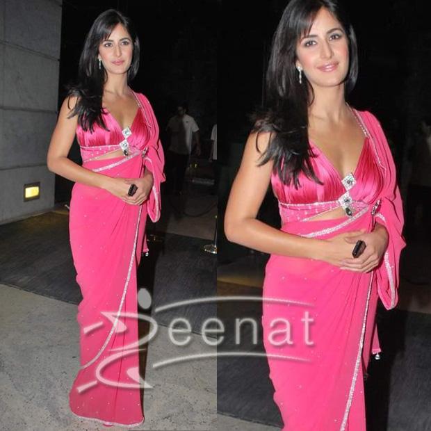 Katrina Kaif Indian Saree