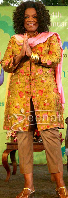 Oprah Winfrey Indian Salwar Kameez | Jaipur Trip
