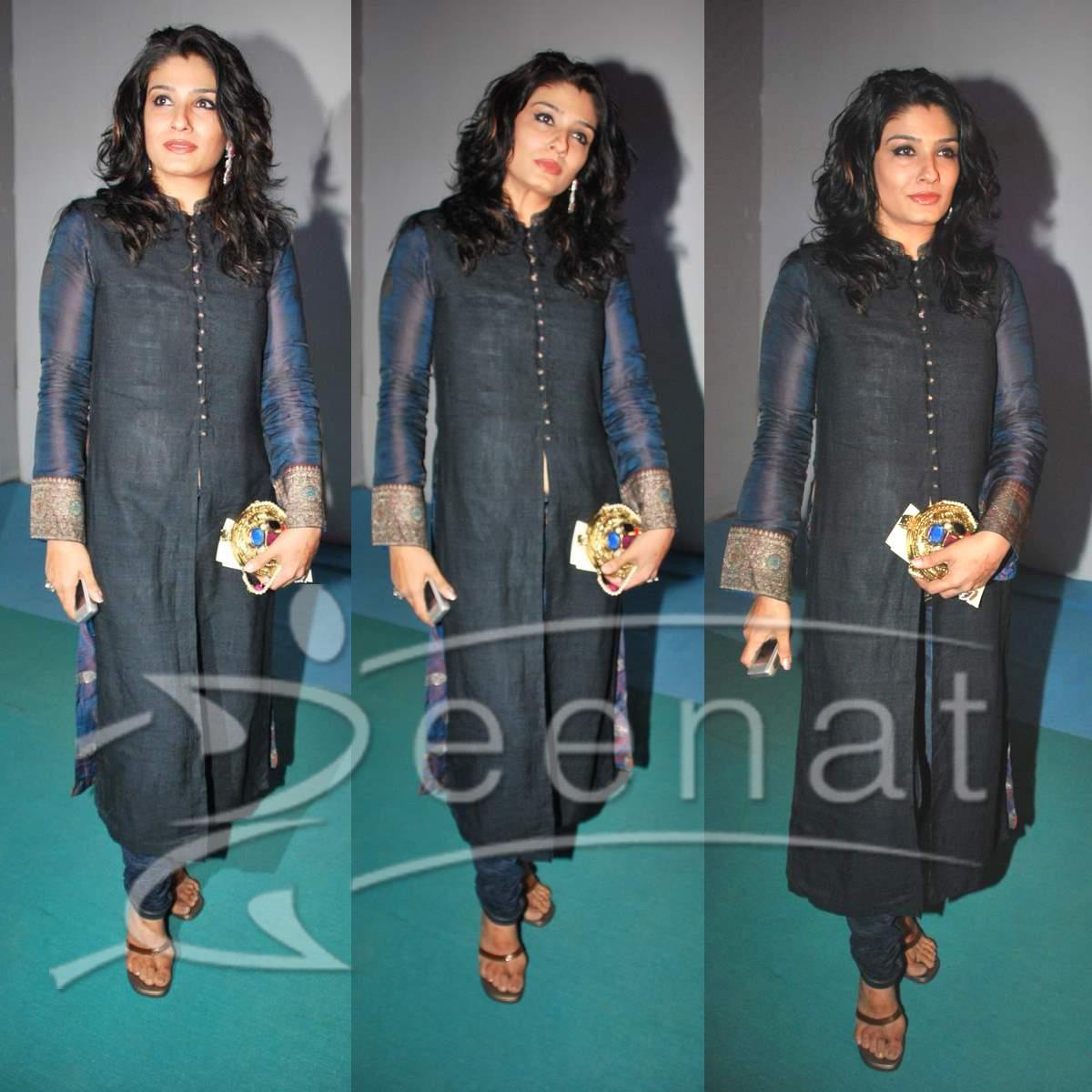 Raveena Tondon In Churidar