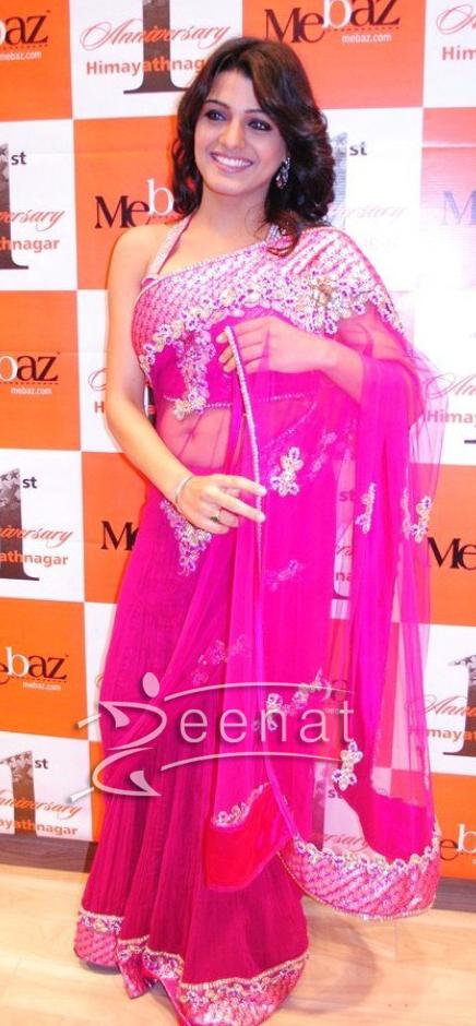 Tashu Kaushik Pink Saree