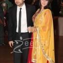 Ayesha Takia With Husband Genelia Ritesh Wedding Rreception