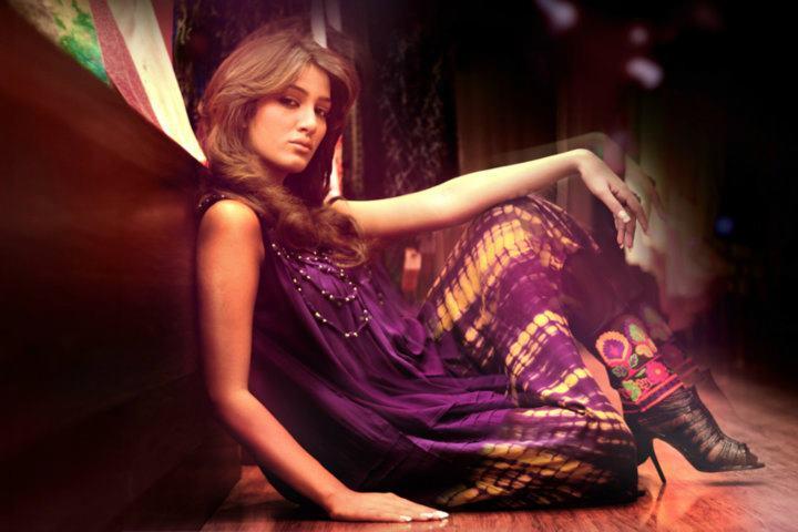 Mathira In Designer Salwar Kameez