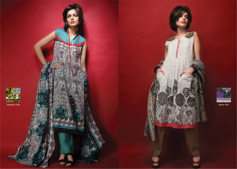 Al-Karam Lawn and Summer Collection 2012 (6)