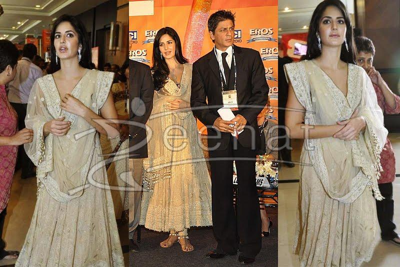 Katrina Bolly Anarkali Churidar style
