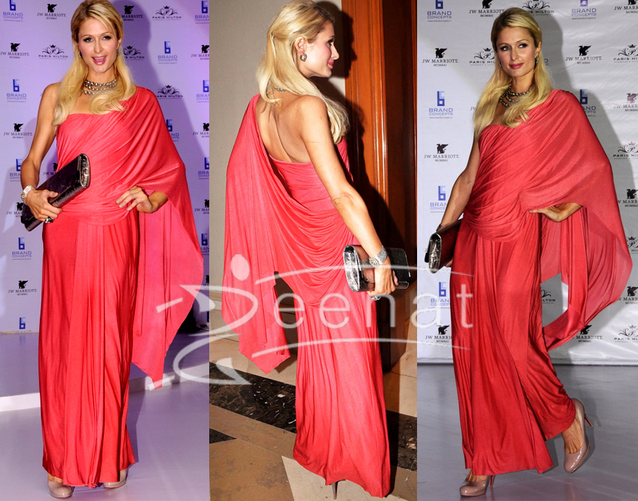Paris Hilton Sareesque