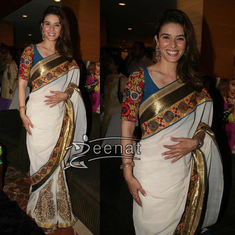Raageshwari in Indian Saree Style