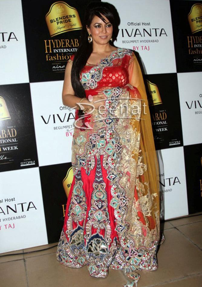 Mahima Chaudhary At Blender's Pride Fashion Week