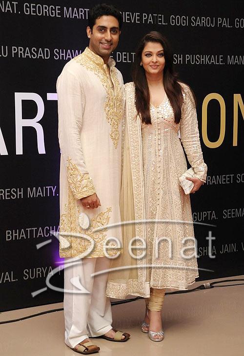 Aishwariya Rai In Designer Churidar Salwar Kameez