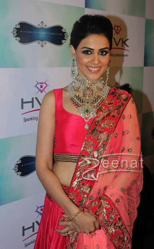 Genelia D'Souza In Bollywood Lehenga Choli