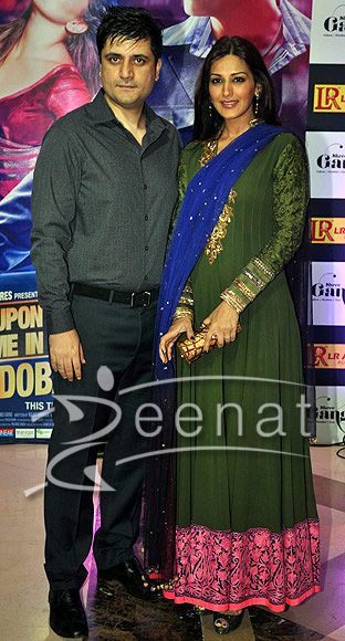 Sonali Bendre at Ekta Kapoor iftar party 2013