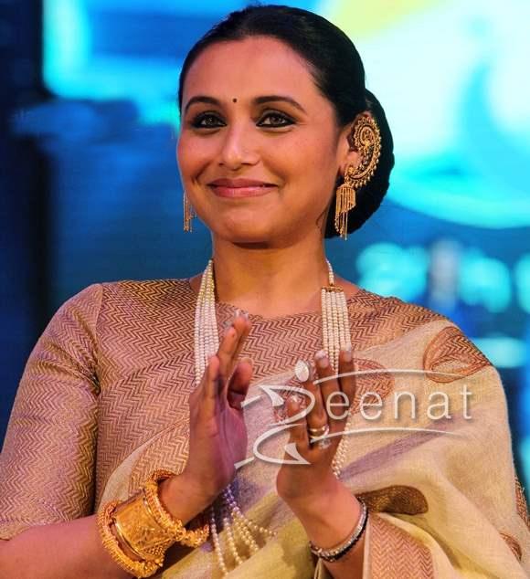 Rani Mukharji In Bollywood Saree